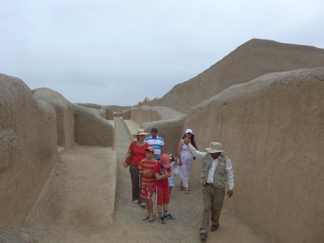 Family trip Northern Peru