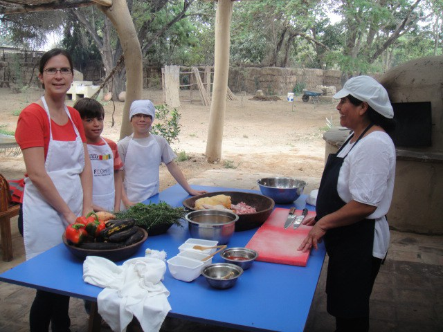 Cooking class, family activities Northern Peru